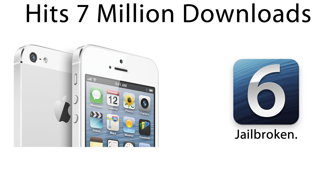 iOS 6 Jailbreak Hits 7 Million Downloads
