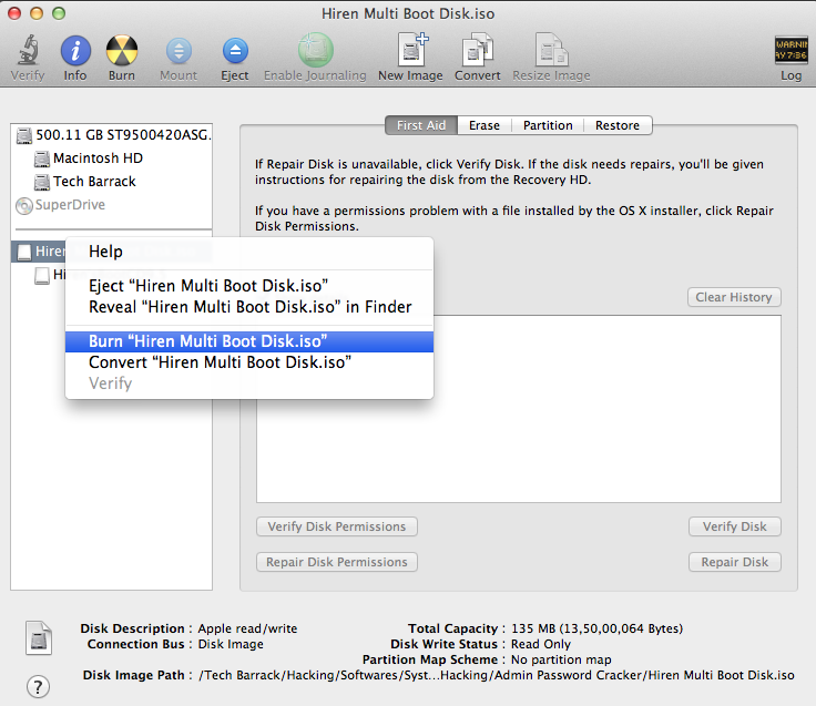 How To Make A Bootable Disc On Mac