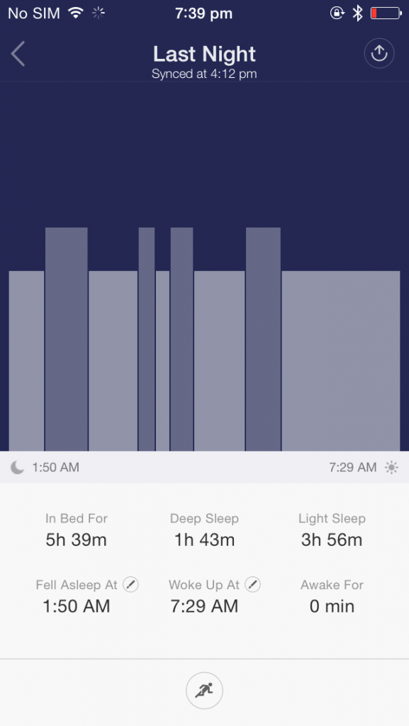 Sleep Analysis -  Mi Band